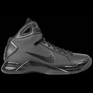 Nike Hyperdunk 08 Triple Black - Size 10